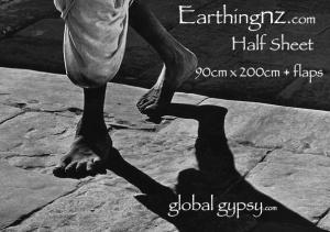 earthing label half